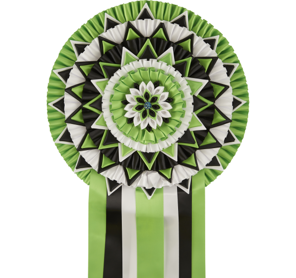 Remarkable Hand Made Rosettes
